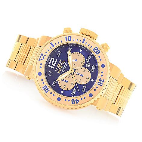 647 076 Invicta Men S 52mm Pro Diver Combat Seal Quartz Chronograph Bracelet Watch W
