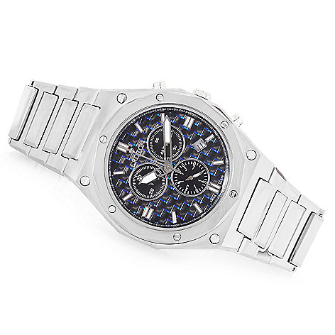 watch watches chronograph zeppelin graf with crystal automatic domed valjoux sapphire htm p