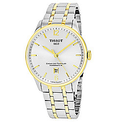 Tissot 28mm or 42mm Chemin Des Tourelle Swiss Made Automatic Stainless Steel Bracelet Watch