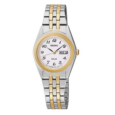 Seiko_Women's_Solar_Quartz_Day_&_Date_Arabic_Numeral_Bracelet_Watch