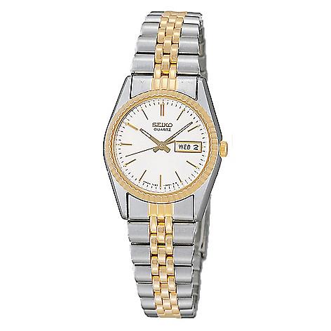 Seiko_Women's_Quartz_Day_&_Date_Stainless_Steel_Bracelet_Watch