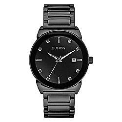 Bulova Men's 41mm Diamond Collection Quartz Stainless Steel Bracelet Watch - 650-402