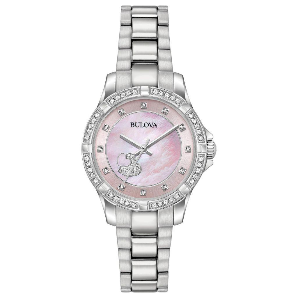 Bulova Women's Crystals Collection Quartz Watch Made with Swarovski Crystals - 650-442