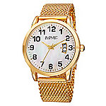 fee0edebb Steinhausen Men s 42mm Lugano Quartz Chronograph Leather Strap Watch ...