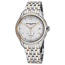 Baume Mercier Men's 43mm Clifton Swiss Made Automatic Two-tone Stainless Steel Bracelet Watch