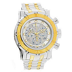 Invicta Reserve Men's 54mm Grand S1 Rally Ltd Ed Swiss Quartz Chrono 1.07ct Diamond Bracelet Watch