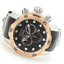 a74aa14f1 Invicta Reserve Men's 52mm Venom Elegant Swiss Quartz Chronograph Leather  Strap Watch