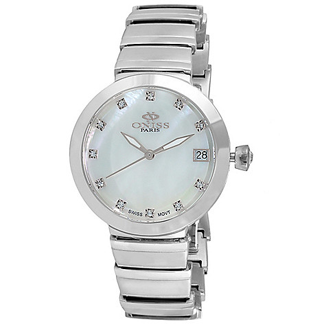 Oniss_Womens_Quartz_MotherofPearl_Dial_Crystal_Accented_Stainless_Steel_Bracelet_Watch