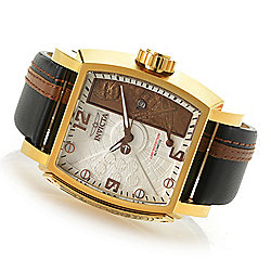 532c53d3d Image of product 655-844. QUICKVIEW. Invicta Star Wars Men's Tonneau  Limited Edition Automatic Leather Strap Watch