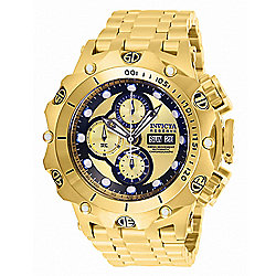 Up to 70% off Collector's Club Watches at Evine - 656-024 Invicta Reserve Men's 52mm Venom Hybrid Swiss Automatic Chronograph Bracelet Watch - 656-024