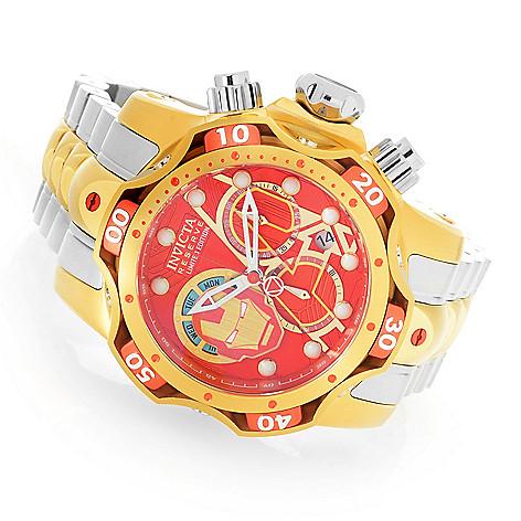 db9ba4260 Invicta Reserve Marvel Men's 52mm Venom Limited Edition Swiss Quartz  Chronograph Bracelet Watch - EVINE
