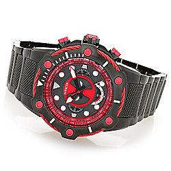 Invicta Marvel Deadpool Men's 50mm Bolt Limited Edition Quartz Chronograph Bracelet Watch