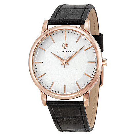 Brooklyn_Watch_Co._Men's_40mm_Myrtle_Swiss_Quartz_White_Dial_Leather_Strap_Watch