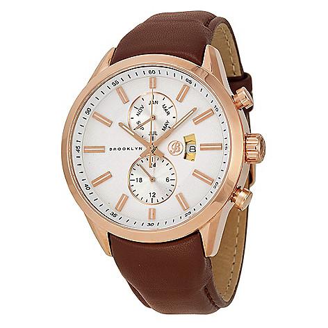Brooklyn_Watch_Co._Men's_44mm_Fulton_Swiss_Quartz_Date_Leather_Strap_Watch