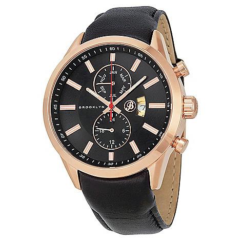 Brooklyn_Watch_Co._Men's_44mm_Fulton_Swiss_Quartz_Date_Black_Leather_Strap_Watch