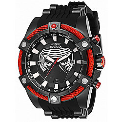 Invicta Star Wars Men's 54mm Bolt Viper Limited Edition Quartz Chronograph Watch w 3-Slot Dive Case - 657-644