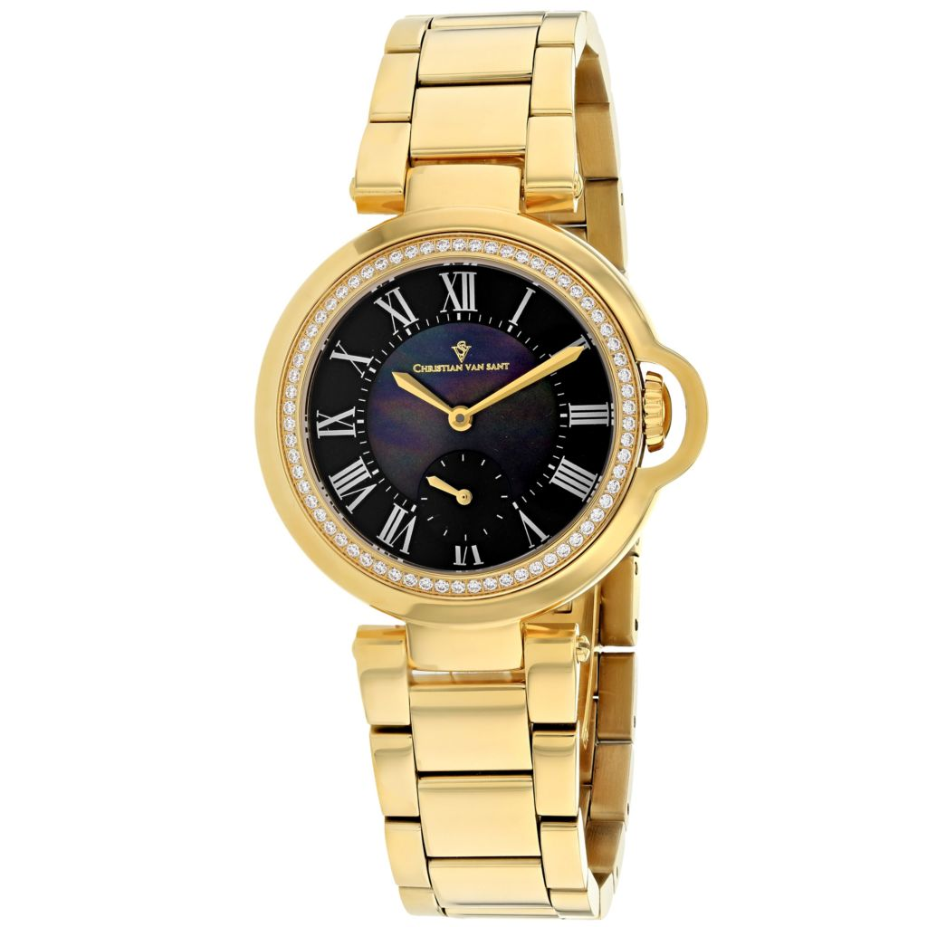 Christian Van Sant Mother-of-Pearl Watch - 657-815
