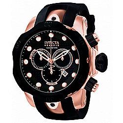ae0c6bc32 Invicta Reserve Men's 52mm Venom Swiss Quartz Chronograph Polyurethane  Strap Watch