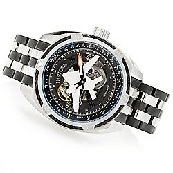 22143fa07 Image of product 657-930. QUICKVIEW. Invicta Men's 50mm Aviator Bolt Flight  Series Automatic Open Heart Bracelet Watch