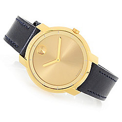 2716f4c53b0 Image of product 658-246. QUICKVIEW. Movado Women s Bold Quartz Sunray Dial Leather  Strap.