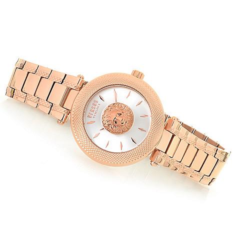 d0fd3439e80 658-788- Versus Versace Women's Brick Lane Quartz Sunray Dial Stainless  Steel Bracelet Watch