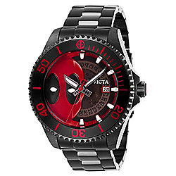 Invicta Marvel 38mm or 47mm Deadpool Grand Diver Limited Edition Automatic Bracelet Watch - 659-646
