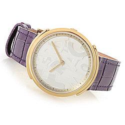 1bda6a6434d Image of product 659-921. QUICKVIEW. Ferragamo Women s Logomania Swiss Made  Quartz Sapphire Crystal Strap Watch. BLACK