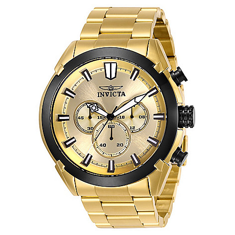 3b638279773 660-757- Invicta Men s 52mm Specialty Quartz Chronograph Stainless Steel  Bracelet Watch