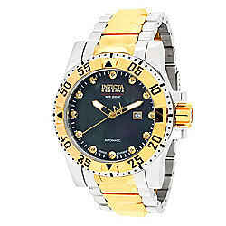 55ec6da07 Image of product 660-807. QUICKVIEW. Invicta Reserve Men's 50mm Heritage  Excursion Limited Edition Swiss Made Automatic Watch
