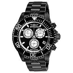 Invicta Men's 47mm Grand Diver Swiss Quartz Chronograph Bracelet Watch w/ 3-Slot Dive Case  at Evine - 661-238