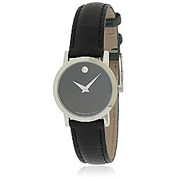 7335ffcfb96 Image of product 661-558. QUICKVIEW. Movado Women s Museum Swiss Made Quartz  Black.
