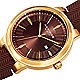 Goldtone / Brown watch dial