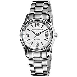 Frederique Constant Men's 39mm Swiss Made Automatic Date Stainless Steel Bracelet Watch