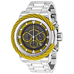 f780552a7 Image of product 662-096. QUICKVIEW. Invicta Men's 50mm Bolt Quartz  Chronograph Stainless Steel Bracelet Watch