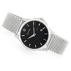 1e526c8cfbb Gucci 40mm G-Timeless Swiss Made Quartz Mesh Bracelet Stainless Steel Watch
