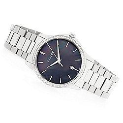 79b73d6c212 Gucci 38mm G-Timeless Swiss Made Quartz 0.21ctw Diamond Stainless Steel Bracelet  Watch