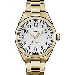 Timex Men's 40mm Briarwood Gold-tone Stainless Steel Bracelet Watch