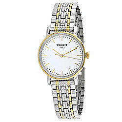 Tissot Women's Everytime Swiss Made Quartz Two-tone Stainless Steel Bracelet Watch