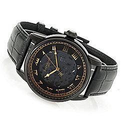 Thomas Earnshaw Men's 42mm Precisto Longitude Automatic Leather Strap Watch - 663-579