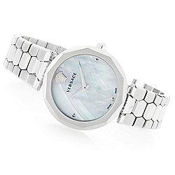 Versace - 663-665 Versace Women's Idyia Swiss Made Quartz Sapphire Crystal Bracelet Watch - 663-665