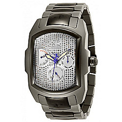 Invicta Reserve Grand Lupah NE20 Limited Edition Automatic 1.57ctw Diamond Titanium Bracelet Watch
