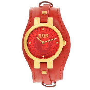 Versus Versace Women's Berlin Quartz Crystal Accented Strap Watch - 663-680