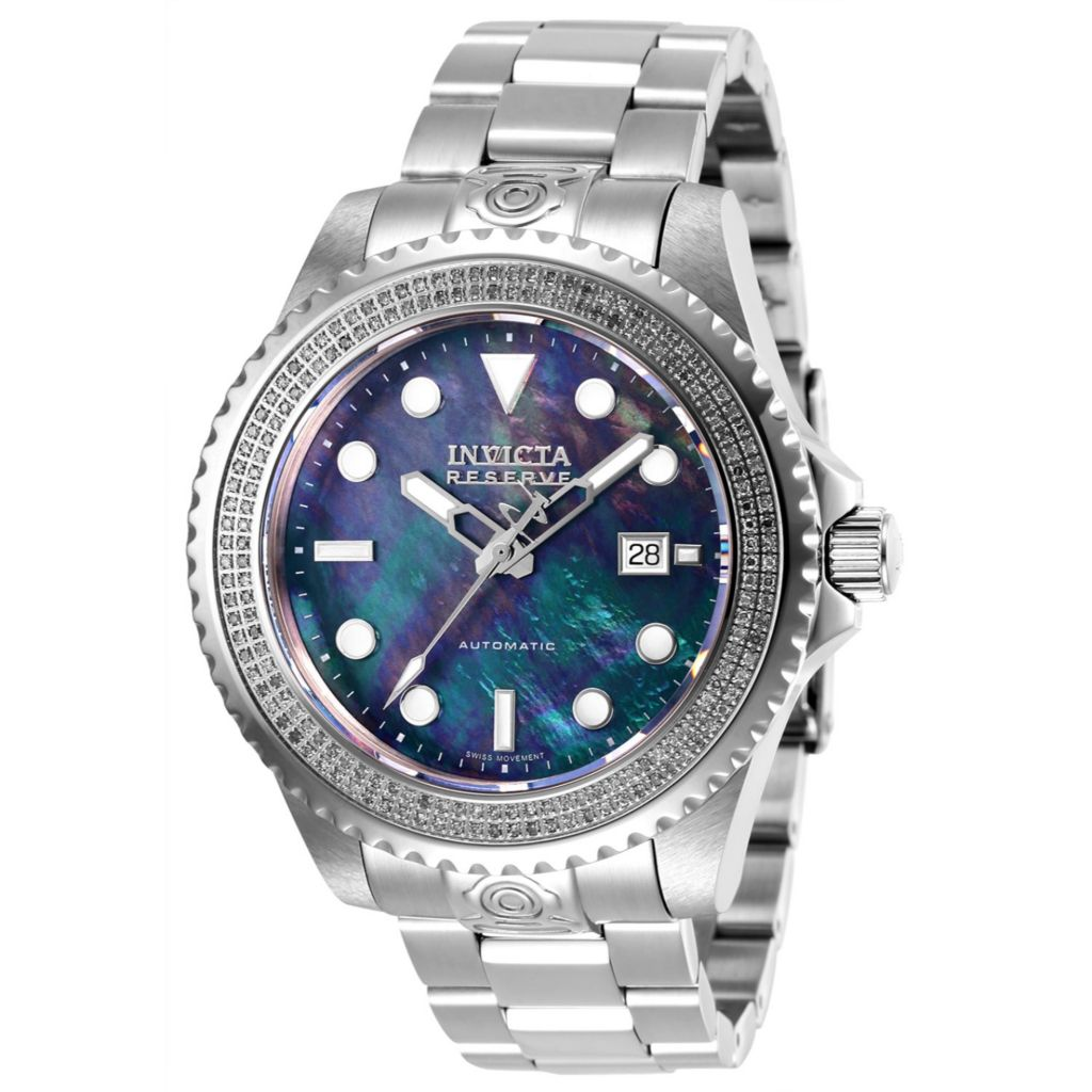 Invicta Reserve 47mm Grand Diver Automatic 0.75ctw Diamond Watch - 663-992