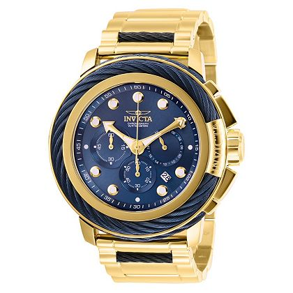 UP TO 90% OFF Invicta Weekender Bolt Collection - 664-234 Invicta Men's 52mm Bolt Quartz Chronograph Stainless Steel Bracelet Watch