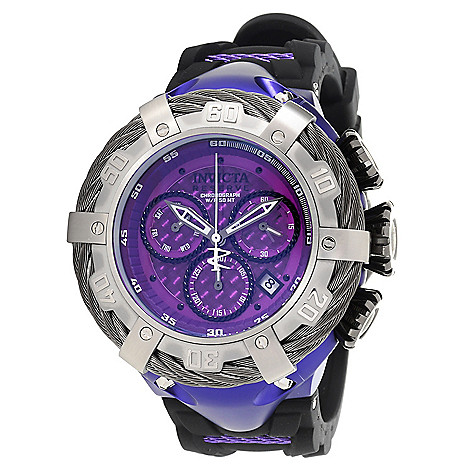 Invicta_Reserve_Mens 52mm_Thunderbolt_ Aluminum_Swiss_Quartz Chronograph Strap_Watch