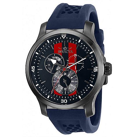 Invicta Men's 45mm S1 Rally Quartz Silicone Strap Watch w/ Helmet Case