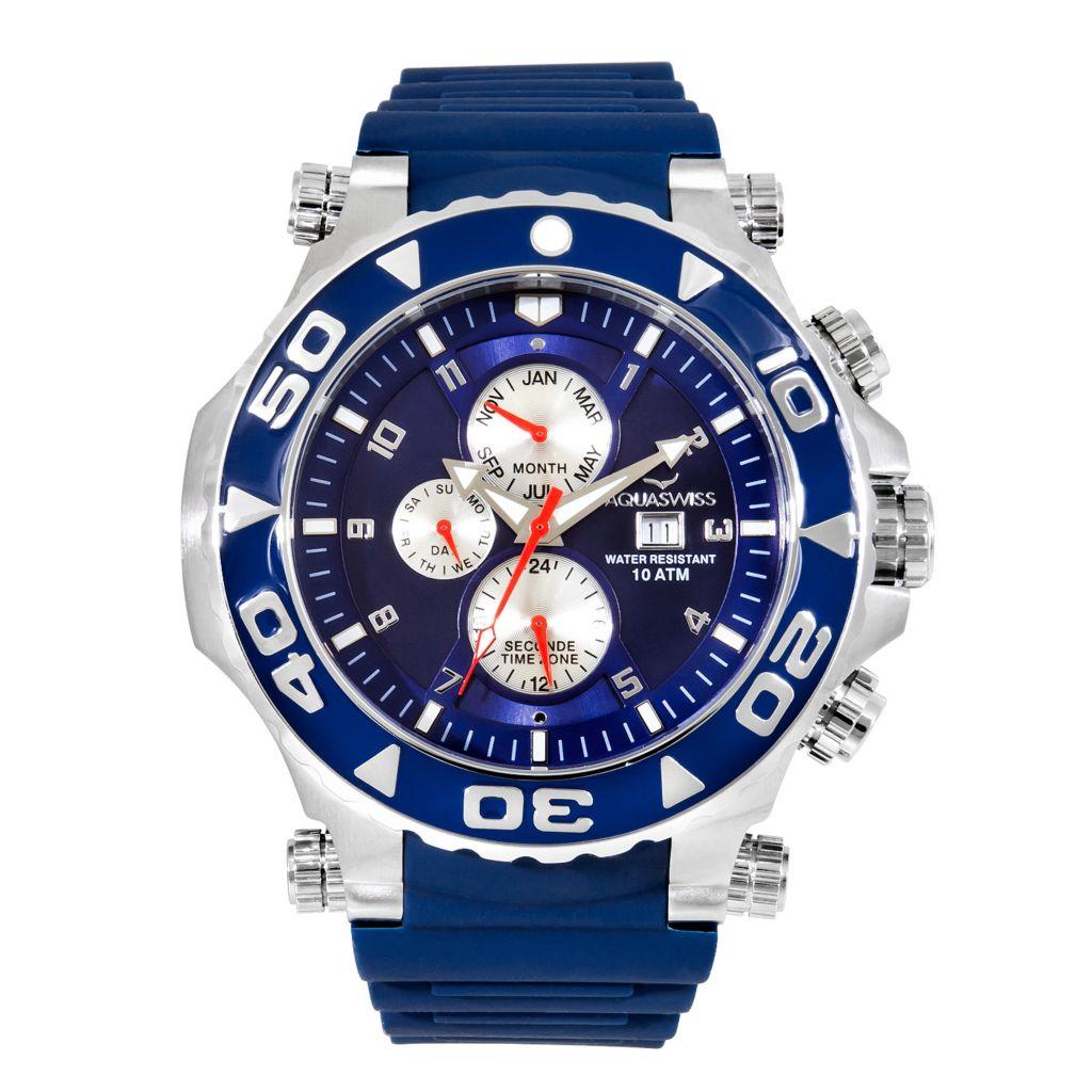 Aquaswiss 45mm Sail Swiss Made Quartz Watch - 667-835