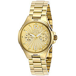 Invicta Women's Angel Quartz Gold-tone Stainless Steel Bracelet Watch