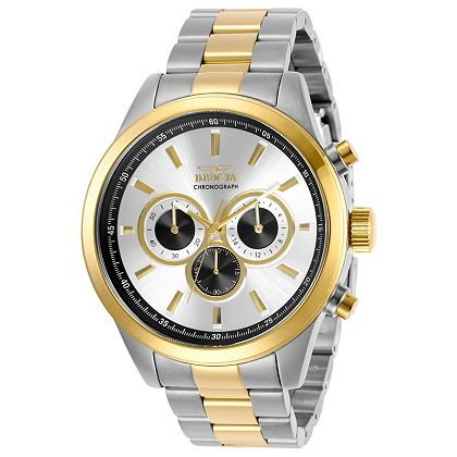 STARTING AT $39 Invicta Weekender at ShopHQ - 668-198 Invicta Men's 48mm Specialty Quartz Chronograph Stainless Steel Bracelet Watch