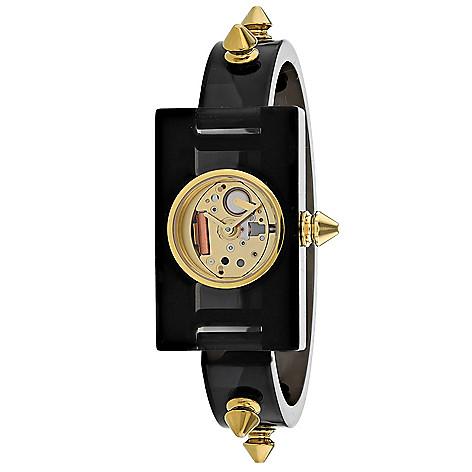 b1499c61d7d 668-904- Gucci Women s Champagne Rectangular Swiss Made Quartz Plexiglas  Bracelet Watch
